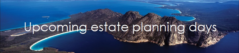 Public trustee the public trustee holds estate planning days in regional centers across tasmania so the community can make or update their will enduring power of attorney solutioingenieria Image collections